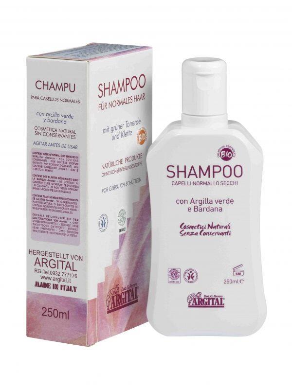 shampoo f r trockenes oder normales haar 250 ml bio. Black Bedroom Furniture Sets. Home Design Ideas