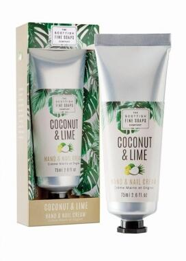 Coconut & Lime Hand- und Nagelcreme (75 ml)