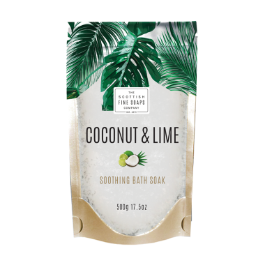 Coconut & Lime Badesalz (500 g)