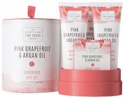 Pink Grapefruit & Argan Oil Geschenkset (4-teilig)