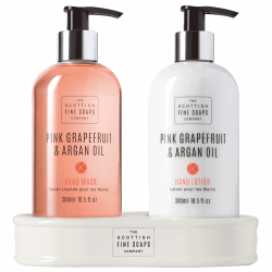 Pink Grapefruit & Argan Oil Hand Care Set (2 x 300 ml)