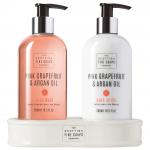 Pink Grapefruit & Argan Oil Hand Care Set (2 x 300 ml)
